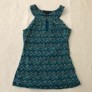 International Concepts teal top M INC
